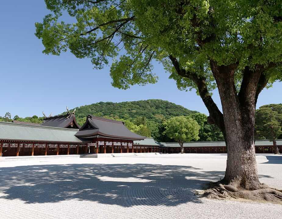 橿原神社の画像